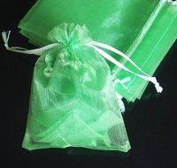 Mixed Colorful 7.8x11.8inch(20x30cm) Organza Bag Pouch For Gift Jewelery Solid Color