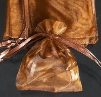 Mixed Colorful 4.7x6.6inch(12x17cm) Organza Bag Pouch For Gift Jewelry Solid Color