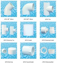 White Pvc Pipe Fittings/Elbow/Tee/Reducer/Coulping
