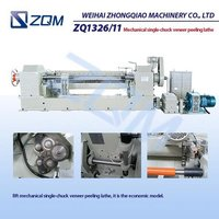 Mechanical Veneer Peeling Lathe