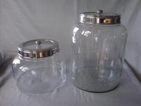 Clear Glass Jars With Steel Lid