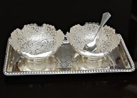 Silver Bowl Set
