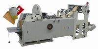 Автоматическая машина для производства бумажных пищевых пакетов.