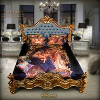Digital Print Designer Bedsheet Sets