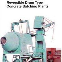 Reversible Drum Type Concrete Batching Plants