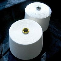 White Color Cotton Yarns