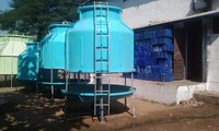 Round Shape Counter Flow Frp Cooling Towers