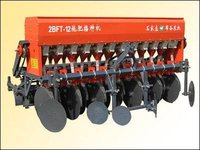 Grain Fertilizer Seeder With Double-Discs Openers