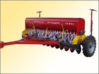 Mounted Fertilizer Seed Drill