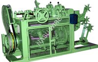 Barbed Wire Making Machine