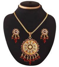 Indian Trendy Vintage Antique Fashion Brass Pendant Jewelry