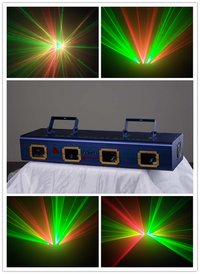 GD-006 Four Apertures RG Laser Stage Light
