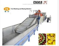 Fruit Washing And Waxing Machine