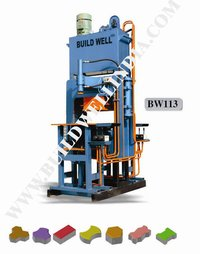 Manual Hydraulic Paver Making Machine