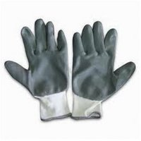 Nitrile Pu Cotted Knitted Hand Gloves