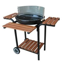 Barbecue Grill With Shelves