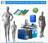 PE PP Plastic Blow Moulding Machine Mannequin