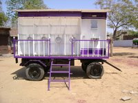 Mobile Urinal Toilet Van