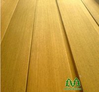 0.5mm Natural Door Golden Teak Wood Veneer