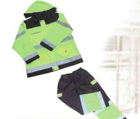 Safety Reflective Rain Coat