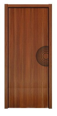 High-Quality WPC Timber Door