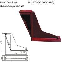 Bent Plate Epoxy Insulator for ABB Switchgear