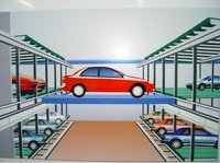 Fully Automatic Plane Moving Parking System PPY-RH