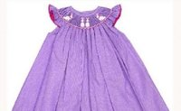 Bunnies Smocked Dress