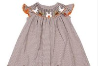 Outstanding Smocked Dress for Little Girls