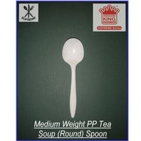 Medium Weight PP Soup (Round) Spoon
