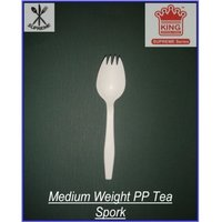 Medium Weight PP Spork (Salad Fork)