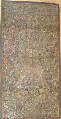 Indian Wall Hanging Beads Work Zardosi Tapestry