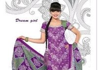 Cotton Dream Girl Dress Material