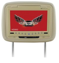 Car Headrest DVD With Bracket