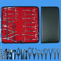 Professional Stainless Steel Body Piercing Tool Kit