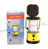 Led Solar Camping Lanterns With Patent