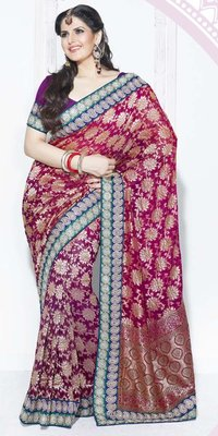 Entirely Wonderful Bridal Saree