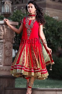 Gorgeous Bridal Kalidar Suit