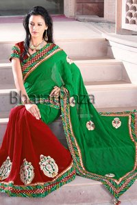 Beauteous Combination Sari