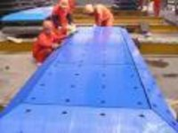 Uhmwpe Fender Face Board