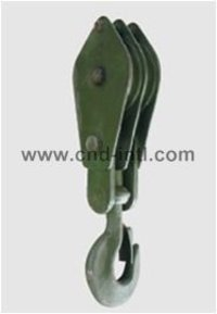 Double-Pulley Open/Closed Hook Type