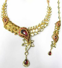 Kundan Billore Necklace Set
