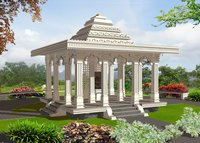 Glass Reinforced Concrete Complete Temple