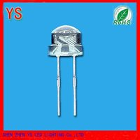 Straw Hat White LED 2000MCD (5mm)