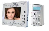 Color Hand Free Villa Video Door Phone With Id Card (7 Inch)