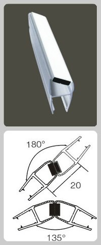 PVC Seal With Magnet Strip
