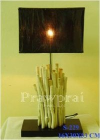 Bleached Branch Table Lamp