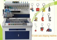 12 Color PVC Automatic Dripping Machine