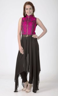 Straight Anarkali Suits