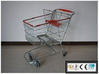 Supermarket Steel Trolley Cart